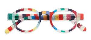 HAL ブルーライトカット PCメガネ 青色光カット CIRCLE TWIST CANDY +1.50 老眼鏡 おしゃれ メンズ レディース コンパクト スリム 携帯用 かっこいい かわいい 折り畳み シニアグラス