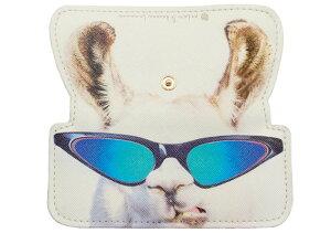 CLM-14G カルモ スリムメガネケース アニマルG アルパカ メガネケース おしゃれ 眼鏡ケース レディース メンズ 女性 男性 プレゼント ギフト めがねケース シンプル アルパカ 動物 かわいい