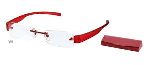 ココチアイ WI ワイン +2.00 老眼鏡 おしゃれ メンズ レディース コンパクト スリム 携帯用 かっこいい かわいい 折り畳み シニアグラス