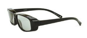 エレッセオーバーグラス ES-OS03-1 BK/SM 偏光 へんこう polarized 眼鏡の上から メガネの上から サングラス オーバーグラス 釣り 度付き不可 UVカット メンズ レディース 男女兼用