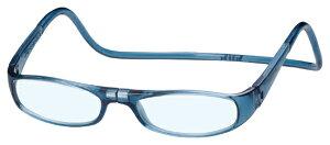 クリックユーロ +1.50 ジーンブルー ClicEuro シニアグラス リーディンググラス 老眼鏡 クリックリーダー 読書用 おしゃれ メンズ 男性 レディース 女性 首にかける 首掛け 携帯用