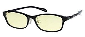 エニックス pcグラス ex-pc029-1af ブラックPCメガネ ブルーライトカット pcめがね pc眼鏡 伊達メガネ 紫外線カット 青色光カット パソコンメガネ スマホ