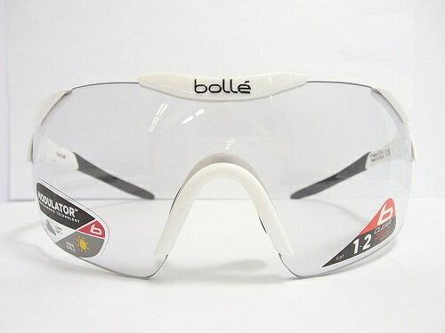 bolle(ボレー) 調光サングラス 6thSenseS(シックスセンス) 12162 col.シャイニーホワイト/ブラック 調光レンズ  紫外線カット UVカット 保護眼鏡 保護メガネ ロードバイク サイクリング アスリート