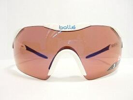 bolle(ボレー) サングラス 6thSenseS(シックスセンス) 11843 col.Shiny White / Blue ローズブルー 紫外線カット UVカット 保護眼鏡 保護メガネ ロードバイク サイクリング アスリート