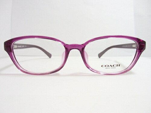 COACH(コーチ) メガネ  HC 6067F  col.5289 (PurpleGradient)  52mm COACH コーチ レディース 女性 プレゼント 記念日 贈り物に。