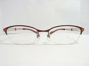 LineArt CHARMANT (ラインアート シャルマン)  フレーム XL1080  col.RE  51mm  【料金そのままで伊達メガネ・度付きメガネも対応可】 婦人 アイウェア メガネフレーム
