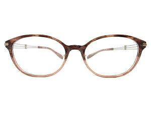 LineArtCHARMANT(ラインアートシャルマン) メガネ XL1472 col.BR 51mm 【料金そのままで伊達メガネ・度付きメガネも対応可】  婦人 アイウェア メガネフレーム