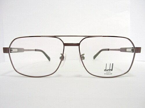 dunhill(ダンヒル) メガネ 1002 col.BR 57mm MADE IN JAPAN  日本製 メンズ ビジネス プレゼント 記念日 贈り物に。