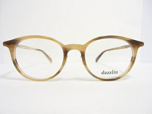 dazzlin(ダズリン) メガネ DZF-2533 col.2 49mm レディース 丸メガネ トレンド プレゼントに。
