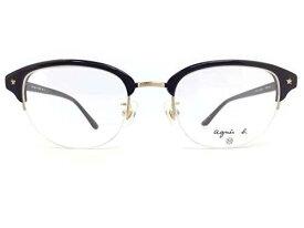 agnes b.(アニエスベー) メガネ AB-2111 col.BC 50mm 【Nikon薄型非球面(1.60)レンズ付き ※伊達メガネ・度付きメガネも対応】  アイウェア メガネフレーム