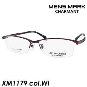 MENS MARK(メンズマーク) メガネ XM1179 col.WI[ワイン] 53mm 日本製