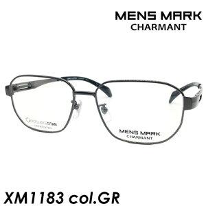 MENS MARK(メンズマーク) メガネ XM1183 col.GR[グレー] 55mm 日本製