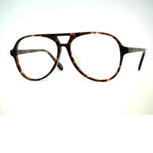 日本製 ナス型メガネフレーム セルプラスチック ティアドロップメガネ VOC・760