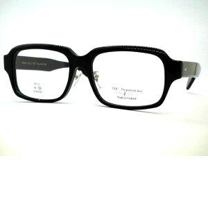 日本製鯖江 大きめ極太セルロイド材質ウエリントンメガネ 鼻パット付きセルロイド眼鏡 テンプル長め 大きいメガネフレーム THE291 SABAE・VOC・No11