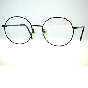 日本製 アイビー大きい丸メガネ 大きめボストンメガネ NOVA・206