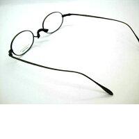 日本製プラスチックを使用せずチタンのみで仕上げた一山オーバルメガネ鼻パットなしオーバルメガネ・NOVA・430
