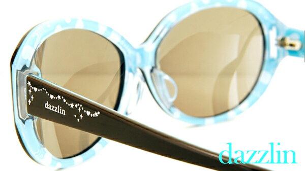【dazzlin(ダズリン)サングラス】American Sweet Casual DZF-3510(28) レディース メガネ 度付き サングラス 女性 ファッションサングラス フルセル ファッショングラス メガネ ブランド ダズリン【RCP】 10P23Sep15