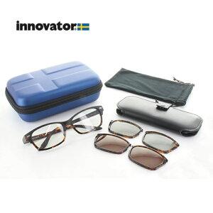 【送料無料】innovator イノベーター サングラス IV-3301 IV-3302 3WAY 偏光レンズ PCメガネ 名眼 2021
