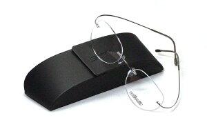 薄型レンズ付メガネセット NewバージョンSilhouette MinimalArt TMA 5515/CN-7111(シルバーグレー)【リムレス】【世界一軽い】【メンテナンスフリー】