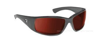 Sunglasses SPF100 series TAKU PLUS matte black frame NXT lens reactocoper