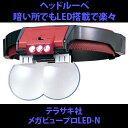 LEDライト付きヘッドルーペ テラサキ メガビュープロLED-N
