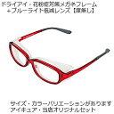 パソコン用メガネ・花粉症用メガネはコレ1本でOK【送料無料】【度なし】ドライアイ・アイプロテクション機能メガネフレーム[アイキュア…