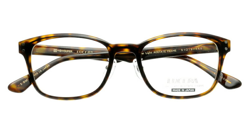 【VERYコラボ同型】LUCERAウェリントンモデル LUC-1006 デミブラウン【メガネフレームのみ】
