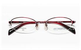 【送料無料】メガネ度付き/度なし AIRMAXエアマックス AM-5068 4(WN) 50レッド【薄型レンズ追加料金0円】(メガネケース・メガネ拭き付) メガネ/めがね/眼鏡/度付きメガネ/度入り/伊達メガネ/ナイロール/眼鏡フレーム 【RCP】