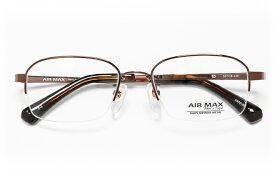 【送料無料】メガネ度付き/度なし AIRMAXエアマックス Men'sType AM70-002 3(BR)ブラウン【薄型レンズ追加料金0円】(メガネケース・メガネ拭き付) メガネ/めがね/眼鏡/度付きメガネ/度入り/伊達メガネ/眼鏡フレーム 【RCP】