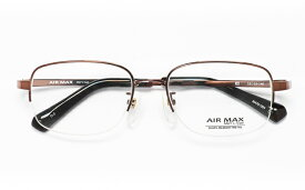 【送料無料】メガネ度付き/度なし AIRMAXエアマックス Men'sType AM70-004 2(BR)ブラウン【薄型レンズ追加料金0円】(メガネケース・メガネ拭き付) メガネ/めがね/眼鏡/度付きメガネ/度入り/伊達メガネ/眼鏡フレーム 【RCP】