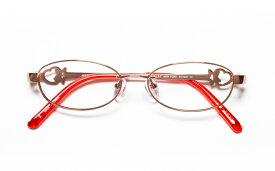 【送料無料】メガネ度付き/度なし JILL STUART NY ジル スチュアート ニューヨーク 04-0001 2LORオレンジ【薄型レンズ追加料金0円】(メガネケース・メガネ拭き付) メガネ/めがね/眼鏡 【子供用/小さいサイズ】【RCP】