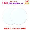 持ち込みフレームのレンズ交換も歓迎!眼鏡レンズITO(イトーレンズ)コンフル160AS(2枚1組) (薄型非球面レンズ1.6…
