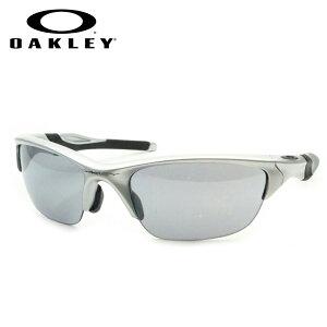 【OAKLEY】オークリー度入りサングラスセット(度付きサングラス)9153 02 シルバー ハーフジャケット2.0 HALF JACKET2.0 アジアンフィット 度付き 度なし スポーツ系サングラス