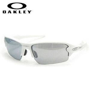 【OAKLEY】オークリー度入りサングラスセット(度付きサングラス)9271 1661 ポリッシュドホワイト フラック2.0 FLAK2.0 アジアンフィット 度付き 度なし スポーツ系サングラス