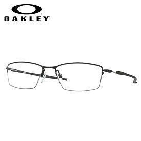 HOYA製レンズつき 【OAKLEY】オークリーメガネセット OX5113-0154 【54サイズ】 リザード LIZARD ナイロール スポーツ 度付き 度なし ダテメガネ 伊達眼鏡 薄型 UVカット 撥水コート
