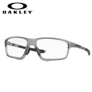 オークリーメガネセット OX8080 0458 58サイズ クロスリンクゼロ CROSSLINK ZERO ハイカーブレンズつき 度付き 度入り 度なし ダテメガネ 伊達眼鏡 UVカット フレーム OAKLEY