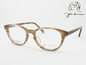 John Lennon ジョンレノン 日本製メガネフレーム JL-6008-3 丸メガネ ラウンド ボストン ウエリントン 度付き対応 近視 遠視 老眼 遠近両用