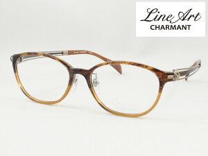 ラインアート シャルマン XL1604-BR 51サイズ Vivace ヴィヴァーチェ メガネフレーム 度付き対応 近視 遠視 老眼 遠近両用 日本製