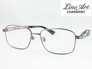 ラインアート シャルマン XL1812-BR 54サイズ Quattro クアトロ メガネフレーム 度付き対応 近視 遠視 老眼 遠近両用 日本製