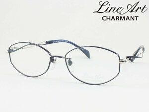 ラインアート シャルマン XL1649-BL Menuet メヌエット メガネフレーム 度付き対応 近視 遠視 老眼 遠近両用 日本製
