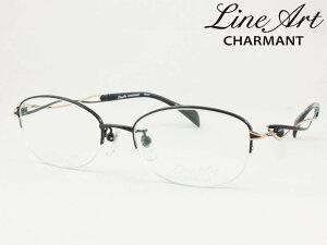 ラインアート シャルマン XL1650-BK Menuet メヌエット メガネフレーム 度付き対応 近視 遠視 老眼 遠近両用 日本製