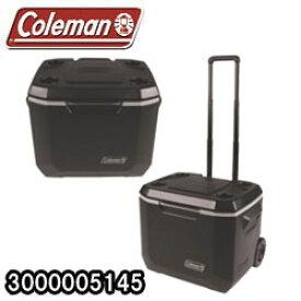 コールマン エクストリーム5 ホイールクーラー 50Qt (Coleman XTREME5 WHEELED COOLER) キャスター付 ブラック (Black) (3000005145)