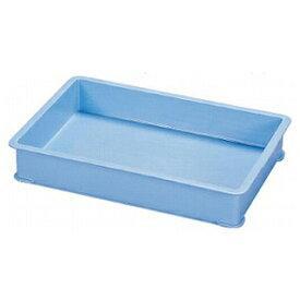 【まとめ買い10個セット品】サンコー PPカラー番重 B型 ブルー