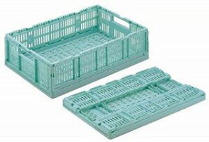 【まとめ買い10個セット品】リス 卵パック用折りたたみコンテナ RS-M615