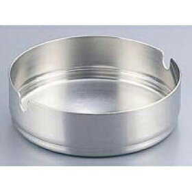 【まとめ買い10個セット品】『灰皿アッシュトレイ』18-8ステンレス重ね灰皿小