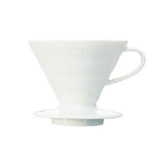 ハリオ V60透過ドリッパー セラミック VDC-02W 【 珈琲 コーヒー関連商品 】
