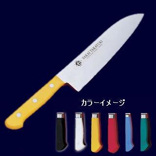 【業務用】堺孝行 S/S PC柄カラー 三徳包丁 18cm