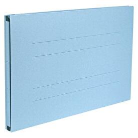 【まとめ買い10個セット品】 のび〜るファイル〈エスヤード[R]〉 紙表紙(PP貼)タフヤード A4判ヨコ型(背幅17〜97mm) AE−51FP−10 ブルー