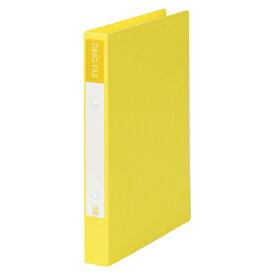 【まとめ買い10個セット品】 紙製リングファイル A4判タテ型(背幅36mm) SRF−A4−Y イエロー