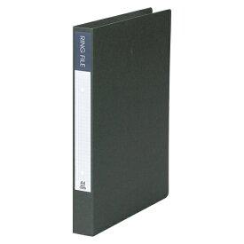 【まとめ買い10個セット品】 紙製リングファイル A4判タテ型(背幅36mm) SRF−A4−DG ダークグレー